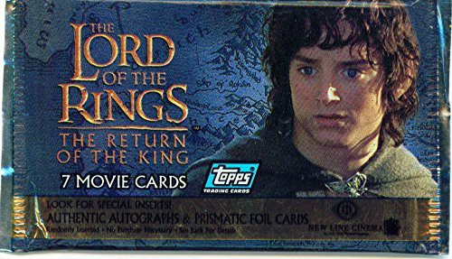 The Lord of the Rings Movie The Return of the King Trading Card Pack [7 Cards]