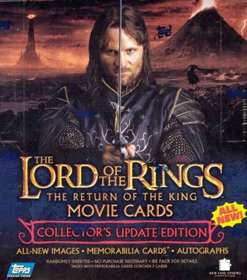 The Lord of the Rings Movie Collector's Update Edition The Return of the King Trading Card Box [36 Packs]