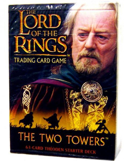 The Lord of the Rings Trading Card Game The Two Towers Theoden Starter Deck