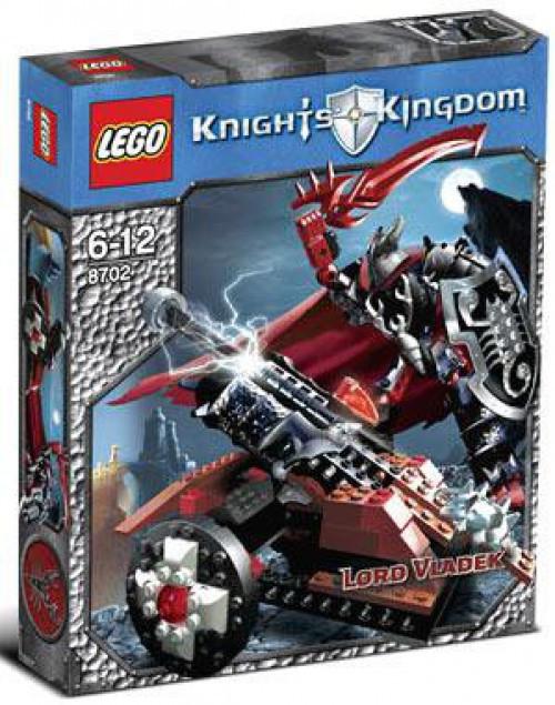 LEGO Knights Kingdom Lord Vladek Set #8702