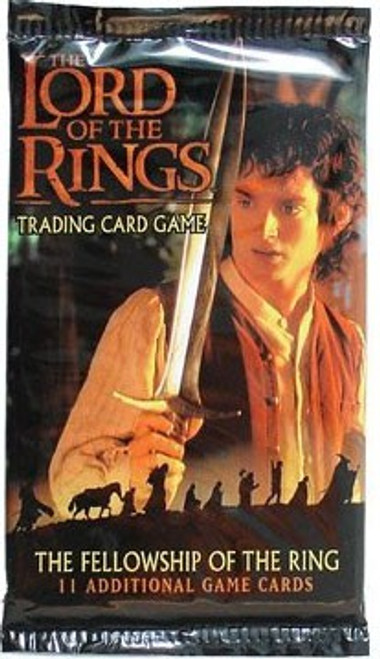 The Lord of the Rings Trading Card Game The Fellowship of the Ring Booster Pack [11 Cards]