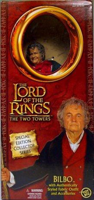The Lord of the Rings The Two Towers Special Edition Collector Series Bilbo Deluxe Action Figure