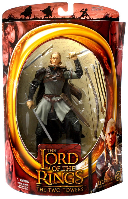 The Lord of the Rings The Two Towers Legolas Greenleaf Action Figure [Rohan Armor]