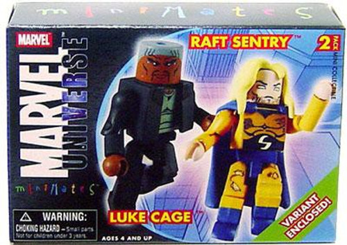 Marvel Universe Minimates Series 12 Luke Cage & Sentry Variant Minifigure 2-Pack