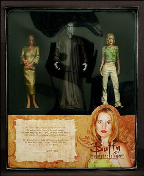 Buffy The Vampire Slayer Series 6 Book of Vengeance Action Figure Set
