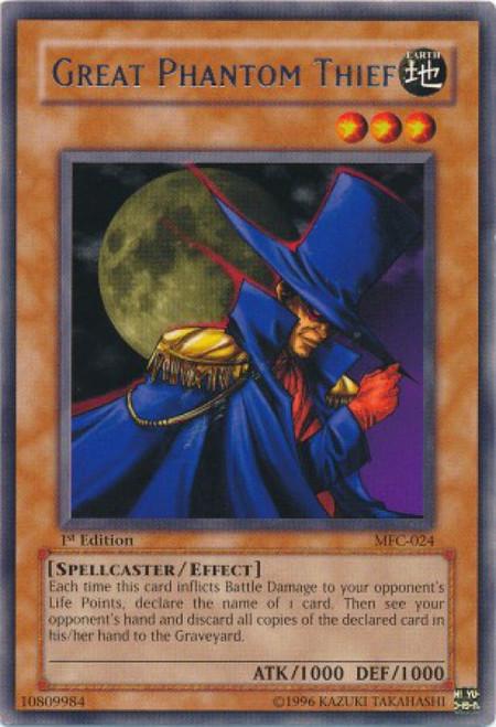 YuGiOh Magician's Force Rare Great Phantom Thief MFC-024