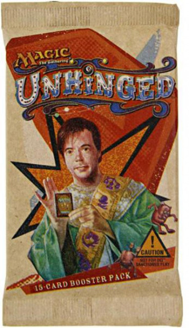 MtG Trading Card Game Unhinged Booster Pack [15 Cards]