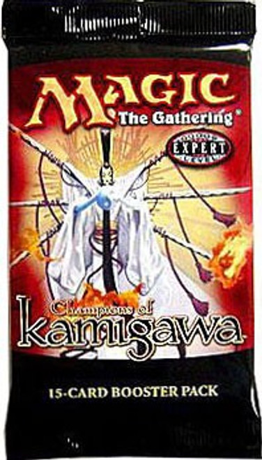 MtG Trading Card Game Champions of Kamigawa Booster Pack [15 Cards]
