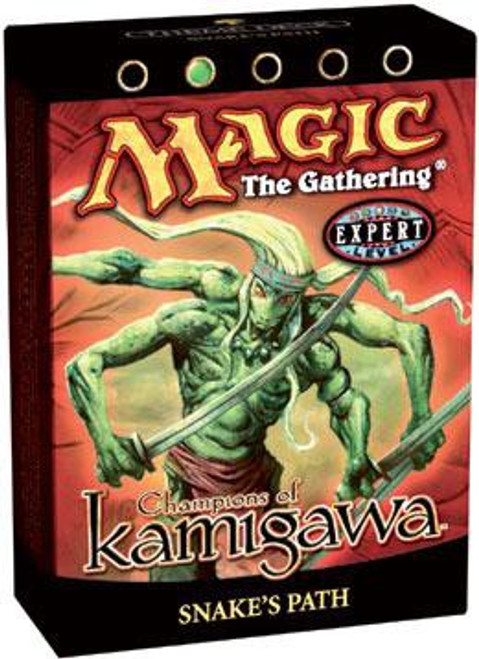 MtG Trading Card Game Champions of Kamigawa Snake's Path Theme Deck