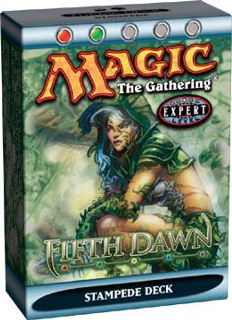 MtG Trading Card Game Fifth Dawn Stampede Theme Deck