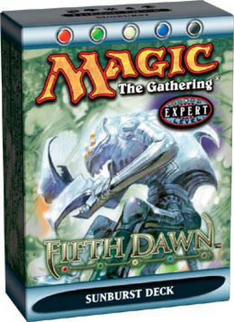MtG Trading Card Game Fifth Dawn Sunburst Theme Deck