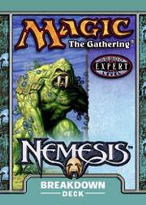 MtG Trading Card Game Nemesis Breakdown Theme Deck