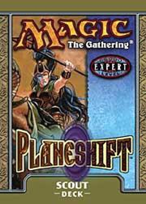 MtG Trading Card Game Planeshift Scout Theme Deck