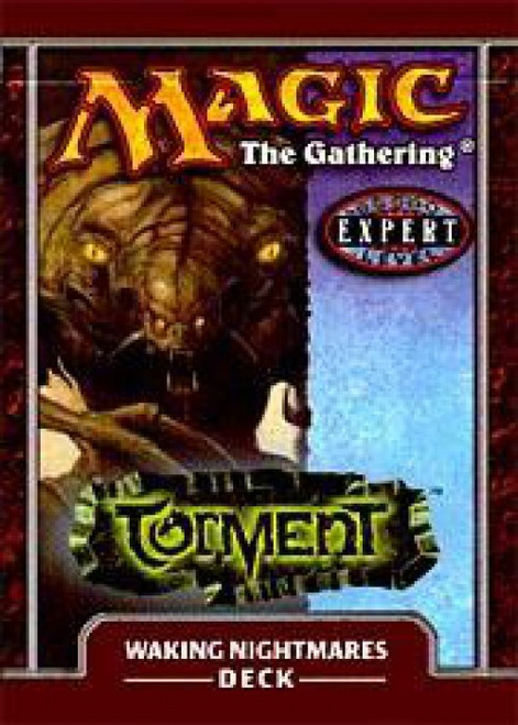 MtG Trading Card Game Torment Waking Nightmares Theme Deck