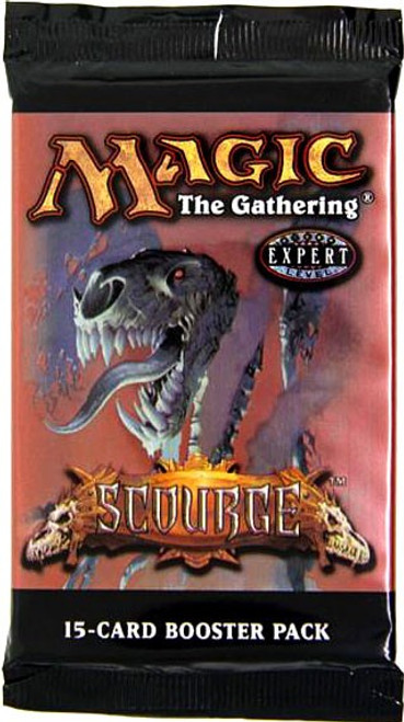 MtG Trading Card Game Scourge Booster Pack