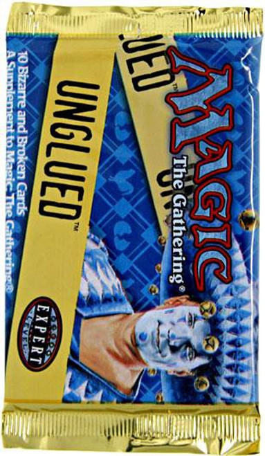MtG Trading Card Game Unglued Booster Pack [10 Cards]