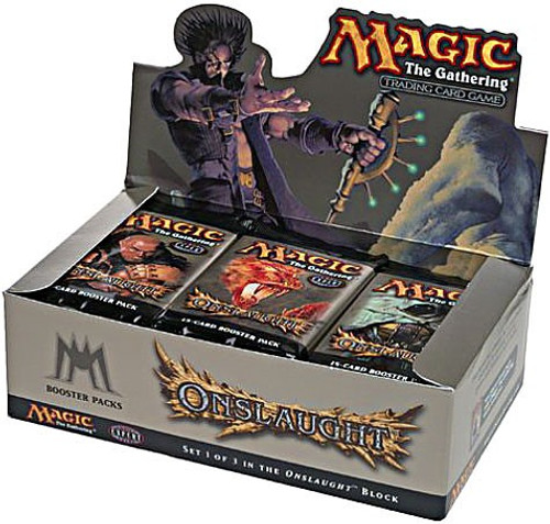 MtG Trading Card Game Onslaught Booster Box [36 Packs]