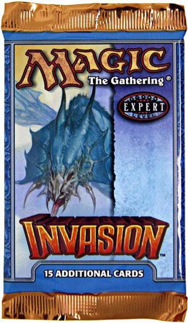 MtG Trading Card Game Invasion Booster Pack