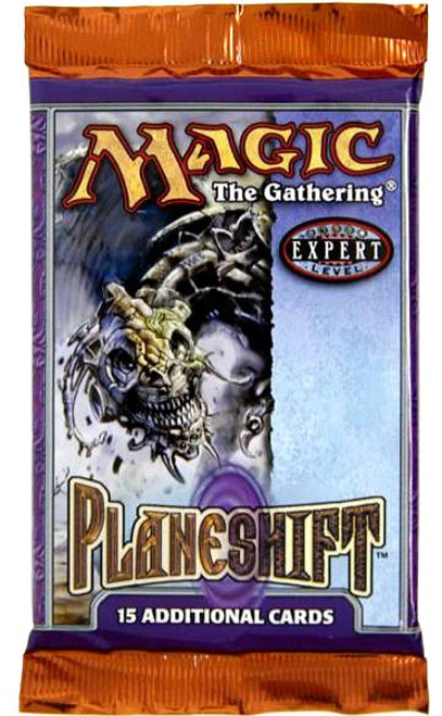 MtG Trading Card Game Planeshift Booster Pack [15 Cards]