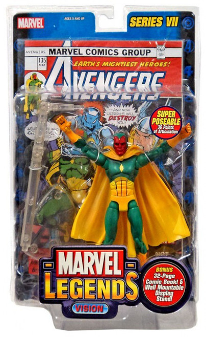 Marvel Legends Series 7 Vision Action Figure