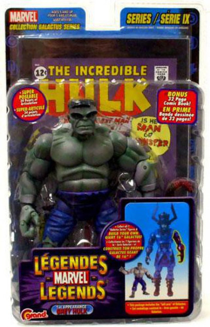 Marvel Legends Series 9 Galactus Grey Hulk Action Figure [1st Appearance]