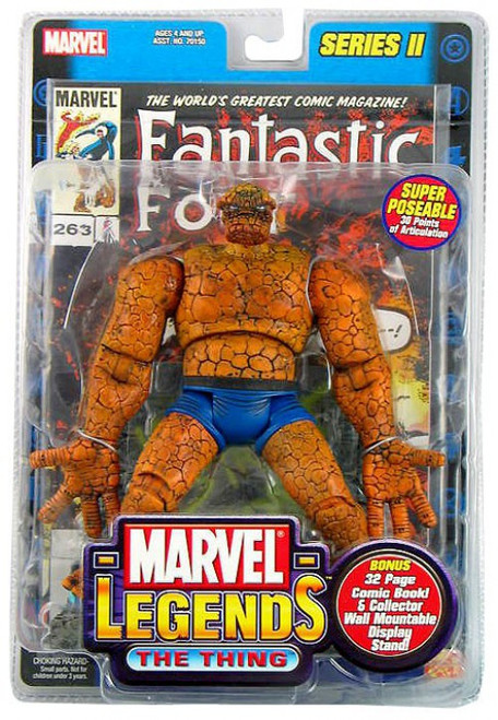 Marvel Legends Series 2 The Thing Action Figure