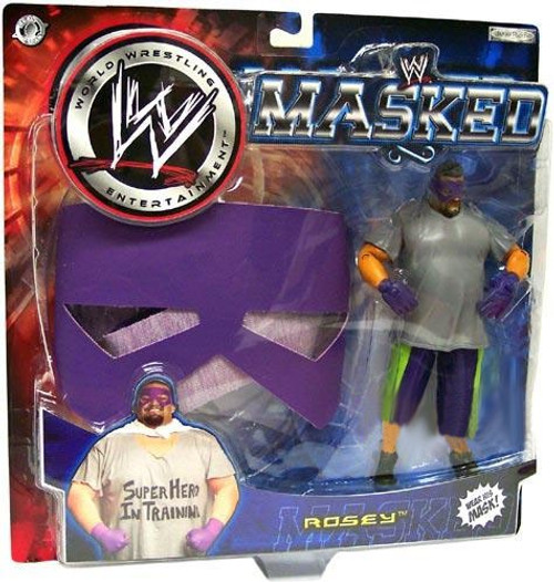 WWE Wrestling WWE Masked Rosey Exclusive Action Figure