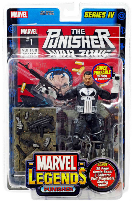 Marvel Legends Series 4 Punisher Action Figure
