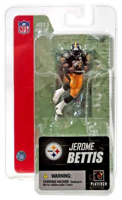McFarlane Toys NFL Pittsburgh Steelers Sports Picks 3 Inch Mini Series 3 Jerome Bettis Mini Figure