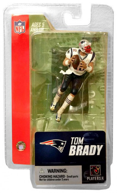 McFarlane Toys NFL New England Patriots Sports Picks 3 Inch Mini Series 3 Tom Brady Mini Figure