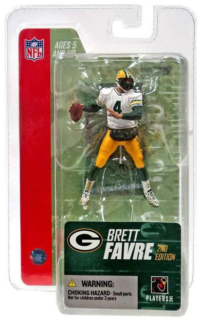 McFarlane Toys NFL Green Bay Packers Sports Picks 3 Inch Mini Series 3 Brett Favre Mini Figure [White Jersey]