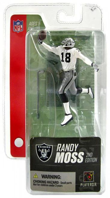 McFarlane Toys NFL Oakland Raiders Sports Picks Series 3 Mini Randy Moss 3-Inch Mini Figure