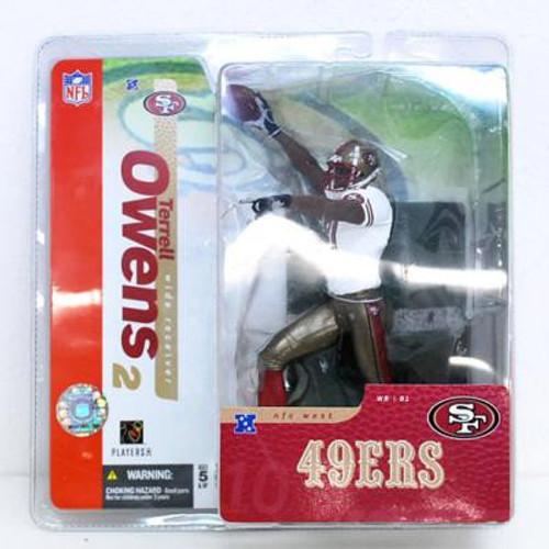 McFarlane Toys NFL San Francisco 49ers Sports Picks Series 10 Terrell Owens Action Figure [49ers Variant]