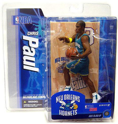 McFarlane Toys NBA New Orleans Hornets Sports Picks Series 12 Chris Paul Action Figure [Teal Jersey]