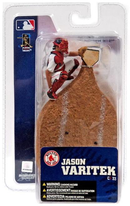 McFarlane Toys MLB Boston Red Sox Sports Picks 3 Inch Mini Series 4 Jason Varitek Mini Figure