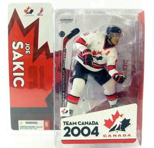 McFarlane Toys NHL Sports Picks Team Canada Joe Sakic Action Figure