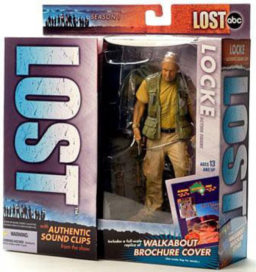 McFarlane Toys Lost Series 1 Locke Action Figure