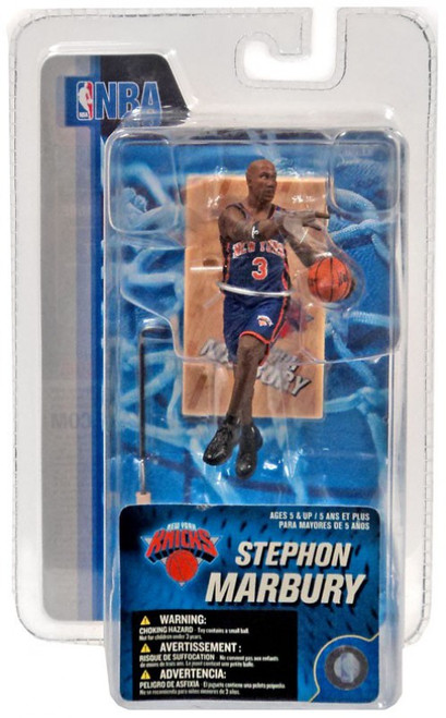 McFarlane Toys NBA New York Knicks Sports Picks 3 Inch Mini Series 4 Stephon Marbury Mini Figure
