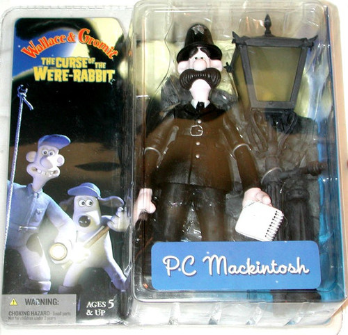 McFarlane Toys Wallace and Gromit The Curse of the Were-Rabbit P.C. MacKintosh Action Figure
