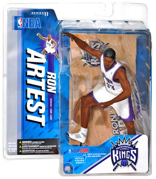 McFarlane Toys NBA Sacramento Kings Sports Picks Series 11 Ron Artest Action Figure