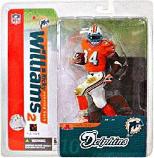McFarlane Toys NFL Miami Dolphins Sports Picks Series 10 Ricky Williams Action Figure [Orange Jersey Variant]