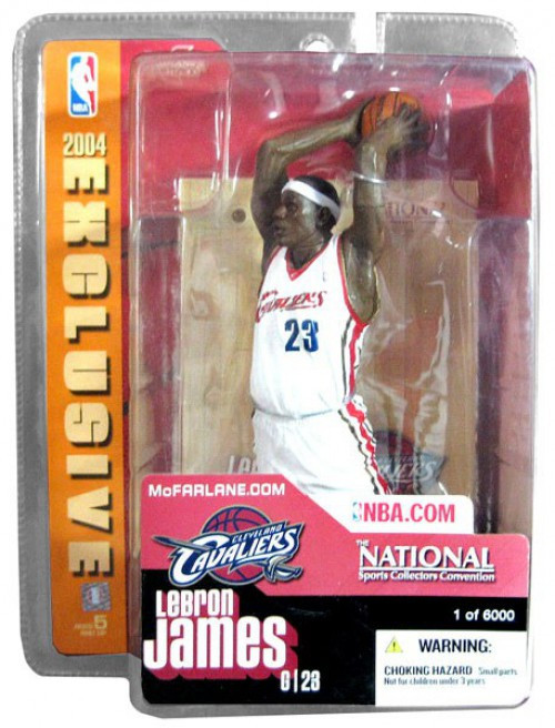 McFarlane Toys NBA Cleveland Cavaliers Sports Picks Exclusive LeBron James Exclusive Action Figure
