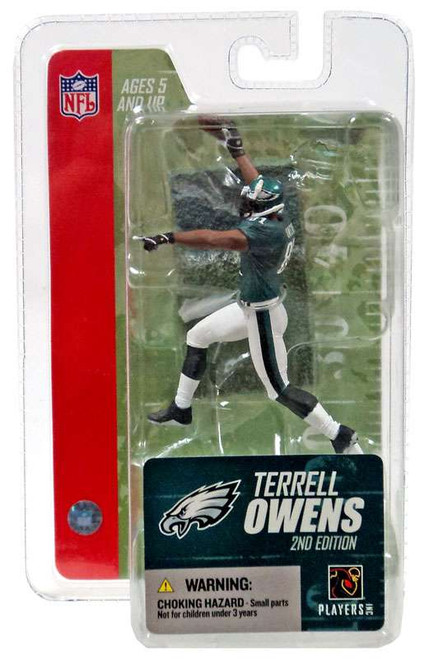 McFarlane Toys NFL Philadelphia Eagles Sports Picks Series 3 Mini Terrell Owens 3-Inch Mini Figure