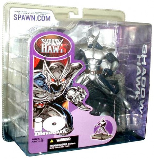 McFarlane Toys Image Comics 10 Anniversary Shadow Hawk Action Figure