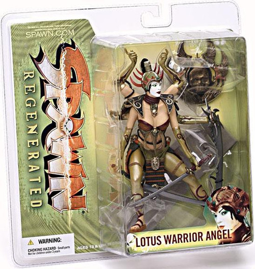McFarlane Toys Spawn Series 28 Regenerated Lotus Warrior Angel Action Figure