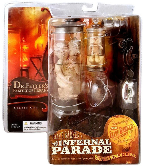 McFarlane Toys Clive Barker's The Infernal Parade Series 1 Dr. Fetter's Family of Freaks Action Figure