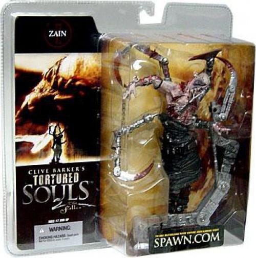 McFarlane Toys Clive Barker's Tortured Souls Tortured Souls 2 The Fallen Zain Action Figure