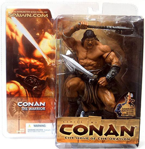 McFarlane Toys Conan the Barbarian The Hour of the Dragon Series 2 Conan the Warrior Action Figure