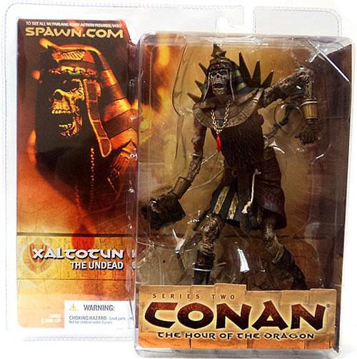 McFarlane Toys Conan the Barbarian The Hour of the Dragon Series 2 Xaltotun the Undead Action Figure