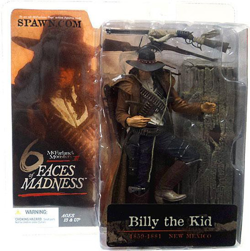McFarlane Toys McFarlane's Monsters 6 Faces of Madness Billy the Kid Action Figure